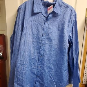 Fresh Produce Nantuckey stripe shirt NWT